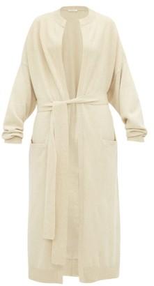Extreme Cashmere - No.105 Big Coat Stretch-cashmere Cardigan - Beige