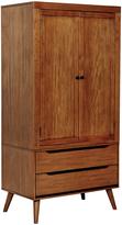Oak Toren Two-Drawer Armoire