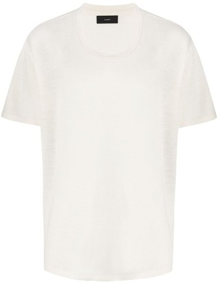 Alanui short-sleeve round neck T-shirt