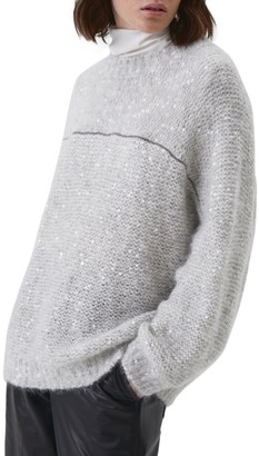 Brunello Cucinelli Relaxed-Fit Embellished Crewneck Sweater