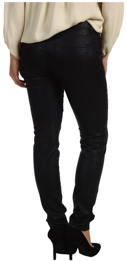 Calvin Klein Jeans Petite - Petite Denim Legging in Black (Black) - Apparel