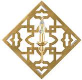 Chelsea House Agadir Allion Sconce - Gold Leaf/Clear