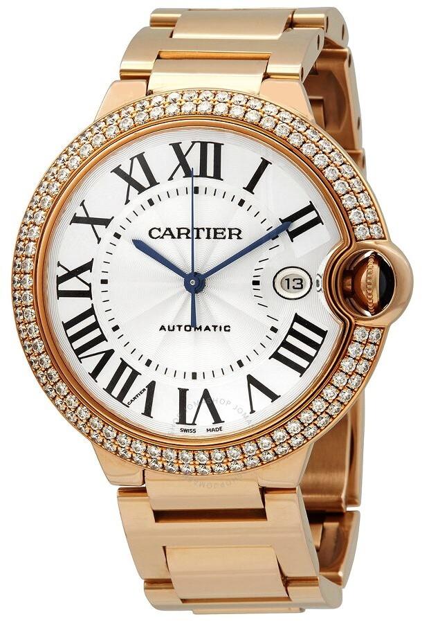 Cartier Ballon Bleu Rose Gold Men's Watch