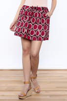 Global Mamas Coastal Mini Skirt