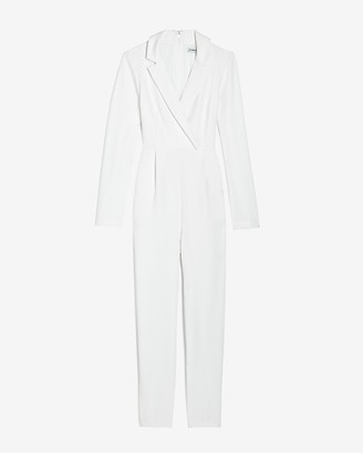 Express Long Sleeve Blazer Jumpsuit