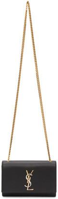 Saint Laurent Black Small Kate Chain Bag