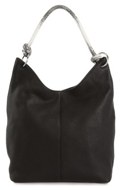 Vince Camuto Aubre Leather Hobo Bag