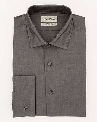 Le Château Tonal Cotton Tailored Fit Shirt
