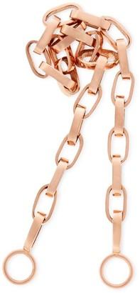 "Marla Aaron 14k Rose Gold 22"" Biker Chain"