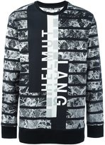 Helmut Lang all-over print sweatshirt