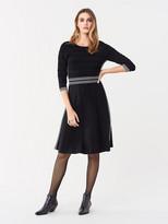 Diane von Furstenberg Nova Pointelle Knit Dress