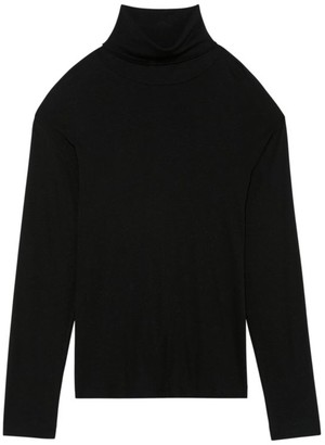 Theory Wyndem Ribbed Turtleneck Sweater