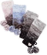 Betsey Johnson Crystal Knit Fingerless Gloves