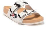 Donald J Pliner Baylie Embroidered Slide Sandal