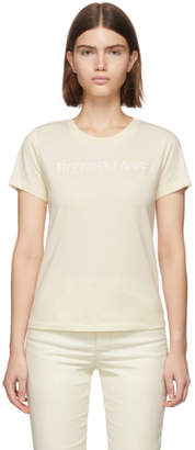 Helmut Lang Off-White Standard Baby T-Shirt