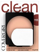 Cover Girl Clean Powder Foundation Natural Ivory .41 oz. (11.5 g)