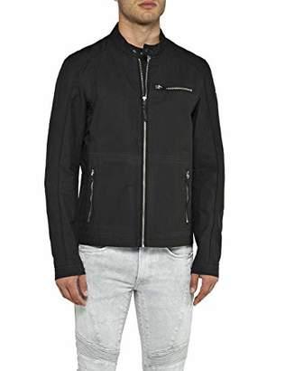 Replay Men's M8972 .000.82990 Jacket, Black 98, X-Large