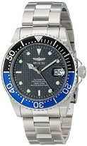 Invicta Men's 15584 Pro Diver Analog Display Japanese Automatic Silver Watch