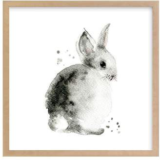 Pottery Barn Kids Bunny 2, Black, 8x8