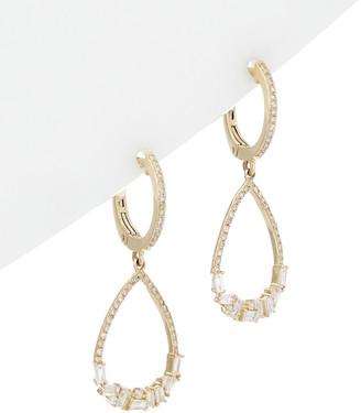 Diana M Fine Jewelry 14K 0.73 Ct. Tw. Diamond Earrings