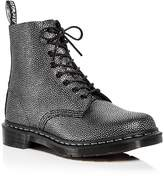 Dr. Martens Women's Pascal Pebbled Leather Combat Booties