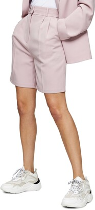 Topshop Clean Crepe Shorts