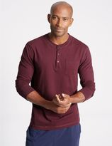 Marks and Spencer Supima® Cotton Pyjama Top