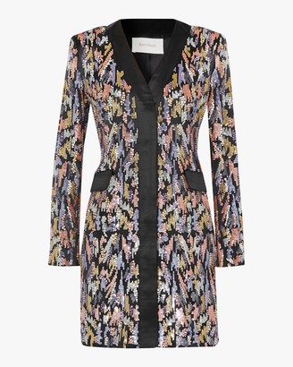 Semsem Sequin Blazer Dress
