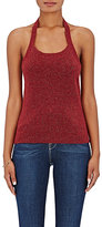 Barneys New York WOMEN'S MERINO WOOL-BLEND HALTER TOP
