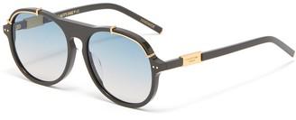 For Art's Sake General' acetate aviator frame sunglasses