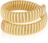 Carolina Bucci Sun Lurex Caro Gold-Plated Bracelet