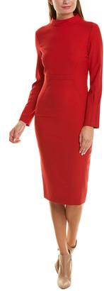 Piazza Sempione Wool-Blend Midi Dress