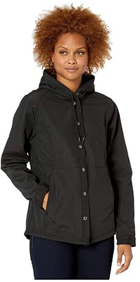 Wolverine I-90 Shirt Jacket (Black) Women's Clothing