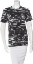 McQ by Alexander McQueen Printed Short Sleeve T-Shirt