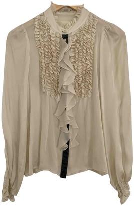Etro Beige Silk Top for Women