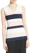 Ted Baker Women's Nenti Stripe Knit Shell