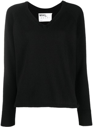 Margaret Howell V-neck knitted jumper