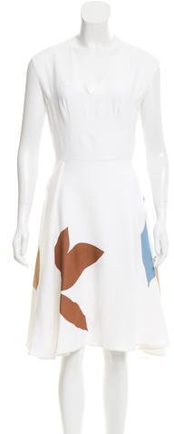 Jonathan Saunders Embellished Leigh Dress