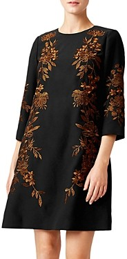 Hobbs London Lynn Embroidered Shift Dress