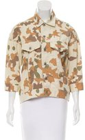 Steven Alan Camouflage Button-Up Jacket w/ Tags