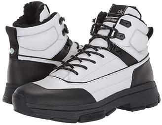 Calvin Klein Cillian (Black/Silver Smooth Calf/Reflective Nylon) Men's Shoes