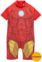 Marvel Iron Man Boys Sunsafe