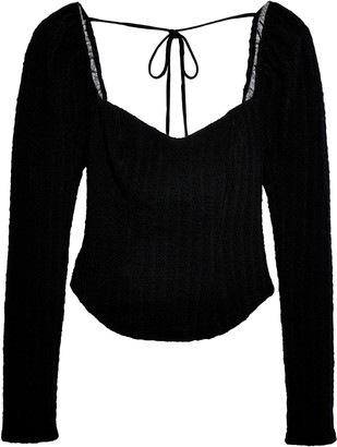 Free People Brittany Long Sleeve Top