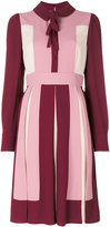 Valentino colour block dress - women - Acetate/Viscose - 38