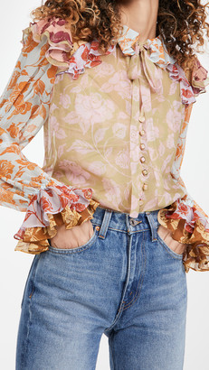 Zimmermann The Lovestruck Ruffle Shirt