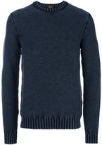 Tod's textured crew neck jumper