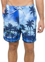 Tommy Hilfiger Palm Tree Print Swim Shorts