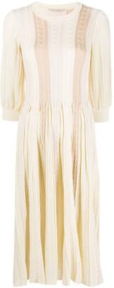 Marco De Vincenzo Cable Knit Dress