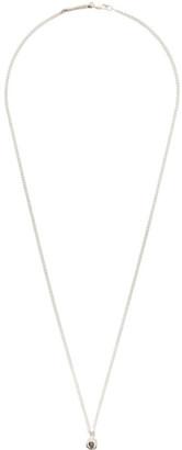 Pearls Before Swine Silver Raw Diamond Necklace