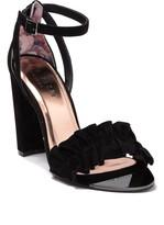Ted Baker Flouncy Ruffle Detailed Heeled Sandal